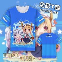 Kobayashi-san Chi no Maid Dragon anime T-shirt