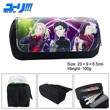 YURI on ICE anime pen bag