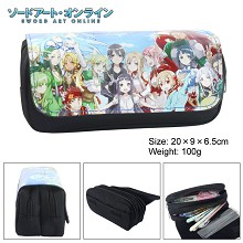 Sword Art Online anime pen bag