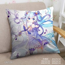 Hatsune Miku anime two-sided pillow