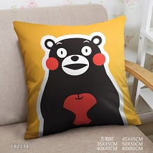 Kumamon anime two-sided pillow