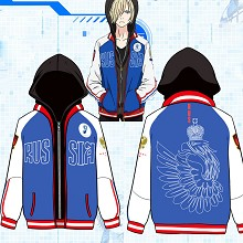 YURI on ICE anime hoodie
