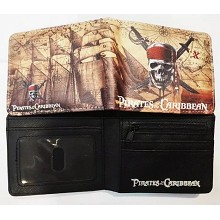 Pirates of the Caribbean wallet