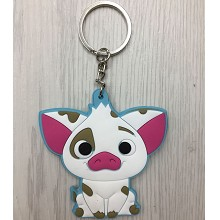 Moana anime two-sided key chain