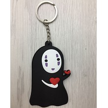 Spirited Away anime two-sided key chain