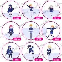 Lovelive anime figures set(9pcs a set)