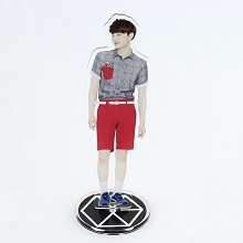 EXO SUHO/Kim Jun-myun acrylic USB LED lamp