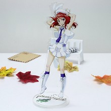 Lovelive Maki Nishikino anime acrylic USB LED lamp