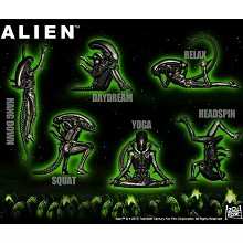 Alien figures set(6pcs a set)