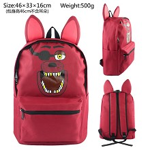 Five Nights at Freddy's anime backpack bag