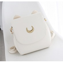 Sailor Moon anime satchel shoulder bag(white)