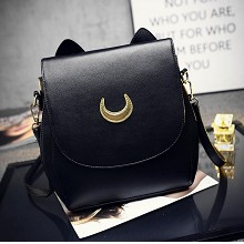 Sailor Moon anime satchel shoulder bag(black)
