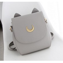 Sailor Moon anime satchel shoulder bag(gray)