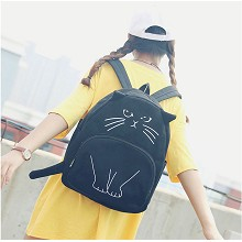 Cute cat backpack bag