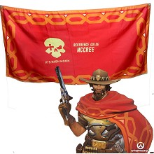 Overwatch Jesse·Mccree cloak mantle