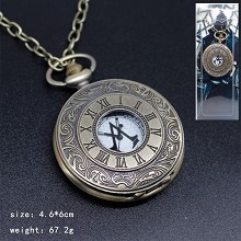 Assassin's Creed pocket watch necklace