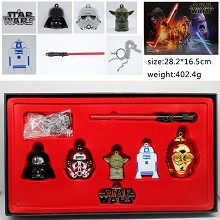 Star Wars key chains a set