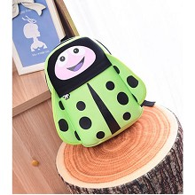 coccinella septempunctata children backpack bag