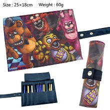 Five Nights at Freddy's anime pen bag