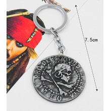 Pirates of the Caribbean key chain