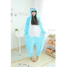 Fairy Tail flano pyjama dress hoodie