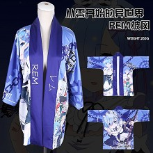 Re:Life in a different world from zero Rem kimono cloak mantle hoodie
