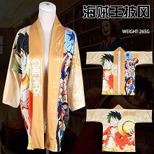 One Piece anime kimono cloak mantle hoodie