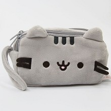 Pusheen plush wallet coin purse