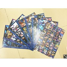 Hero Moba posters(8pcs a set)