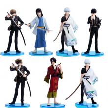 Gintama figures(7pcs a set)
