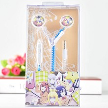 Tenma Gabriel White anime headphone