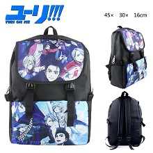 Yuri on ice backpack bag