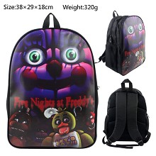 Five Nights at Freddy's backpack bag