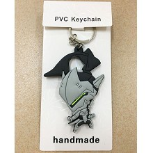 Overwatch two-side key chain