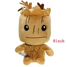 8inches Guardians of the Galaxy Groo anime plush doll
