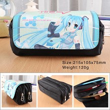 Hatsune Miku anime pen bag