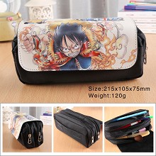 One Piece Luffy anime pen bag