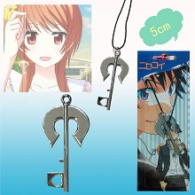 Nisekoi anime necklace