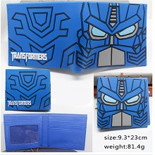 Transformers anime wallet