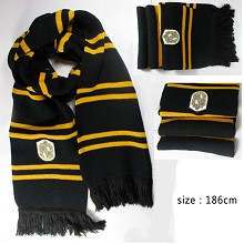 Harry Potter Hufflepuff scarf