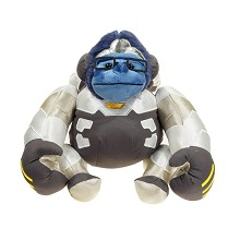 12inches Overwatch WINSTON plush doll