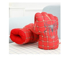 Spider man plush gloves a pair