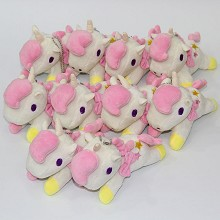 4.8inches sanrio little twin star anime plush dolls set(10pcs a set)