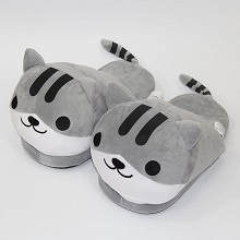 Atsume plush shoes slippers a pairt