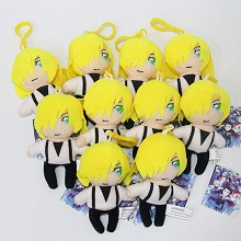 4.8inches Yuri on ice anime plush dolls set(10pcs a set)