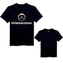 Overwatch 3Dlogo cotton t-shirt
