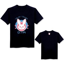 Overwatch D.Va cotton t-shirt