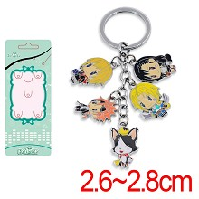 Final Fantasy anime key chain