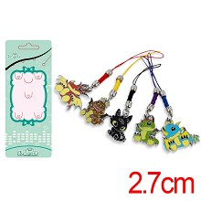 How to Train Your Dragon phone straps set(5pcs a s...