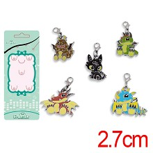 How to Train Your Dragon anime key chains set(5pcs a set)